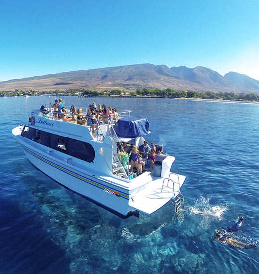 Best Molokini Snorkel Tour and private charters.