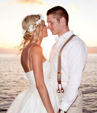 Private Maui Wedding Charter Cruise.