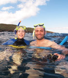 Snorkeling with the Top Adventure Boat Cruise on Maui