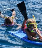 KIds love Molokini Snorkel Trip