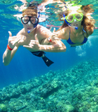 Maui Morning Snorkel Couple