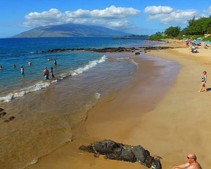 Kam Beaches snorkel in Maui