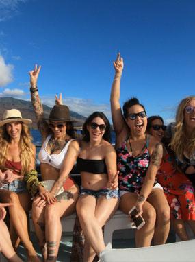 Best Maui Family Snorkel Adventure Boat Charter