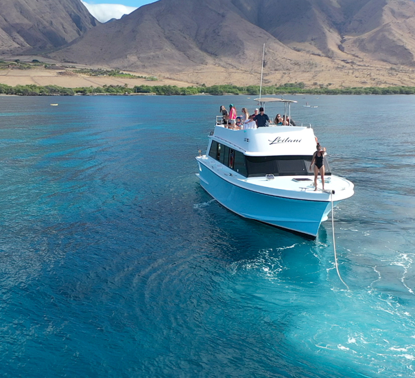 Best Maui Snorkel and SNUBA charter.