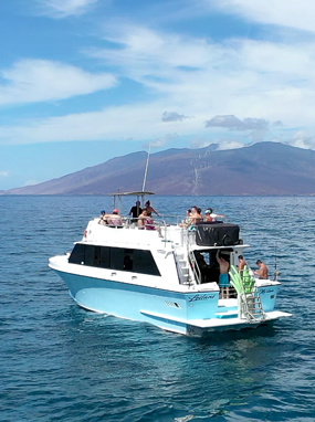 Leilani Whale Watching Vessel