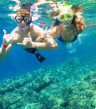 Maui Morning Snorkel Couple